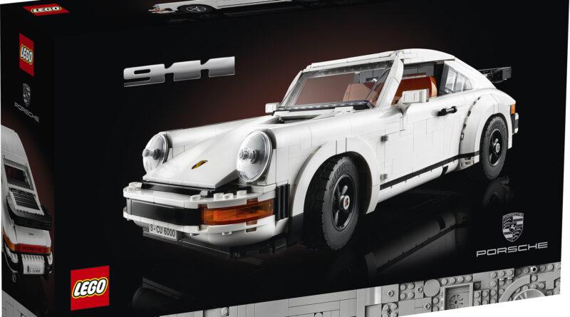 LEGO CREATOR Porsche 911 set 10295 box art front
