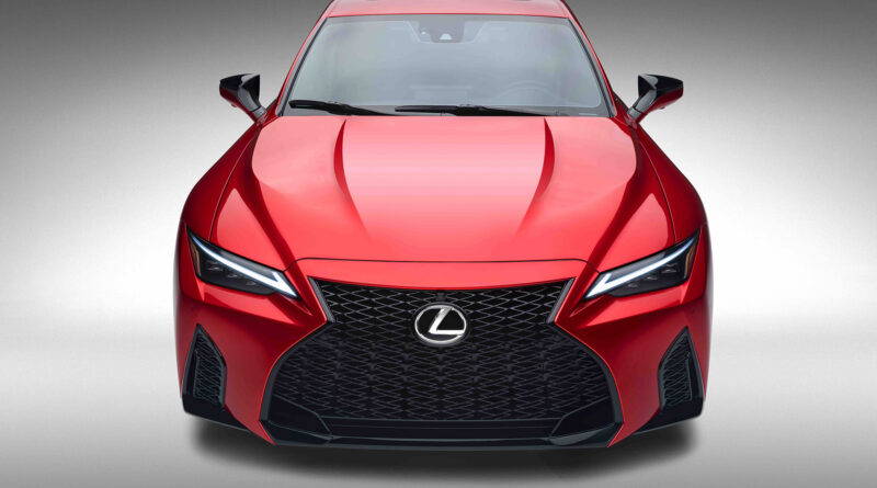 Lexus IS 500 F Sport Performance front view