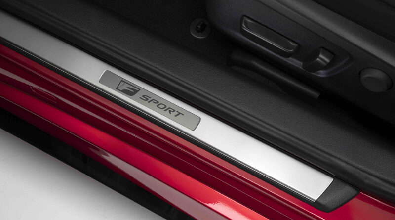 Lexus IS 500 F Sport Performance door sill