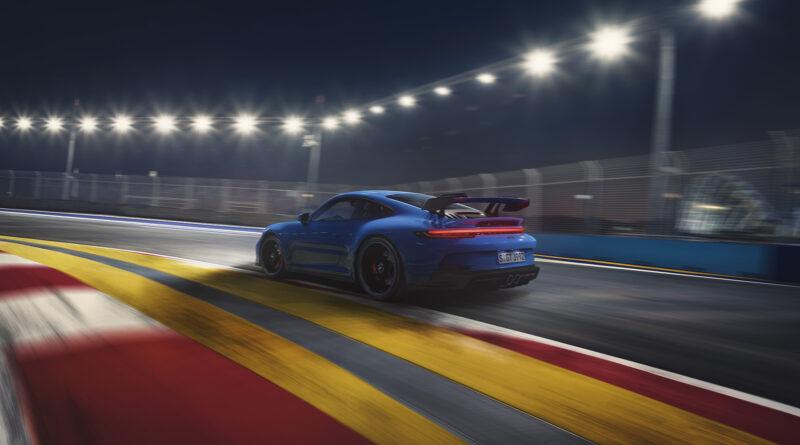 2022 Porsche 911 GT3 on track