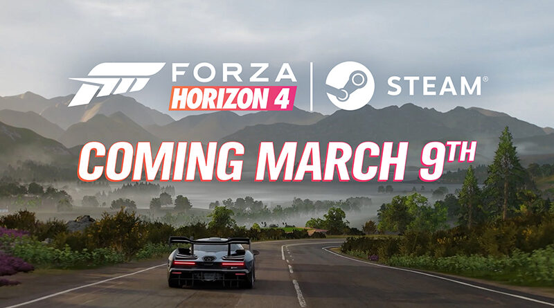 Forza Horizon 4 is coming to Steam on March 9th, 2021