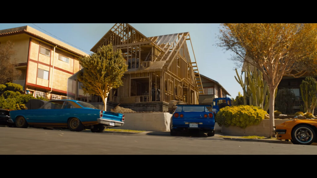 "The ""Toretto house"" being rebuilt as seen in the new Fast 9 big game trailer"