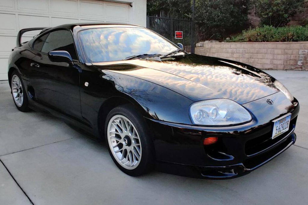 JDM right hand drive 1994 Toyota Supra turbo for sale on CarsAndBids.com