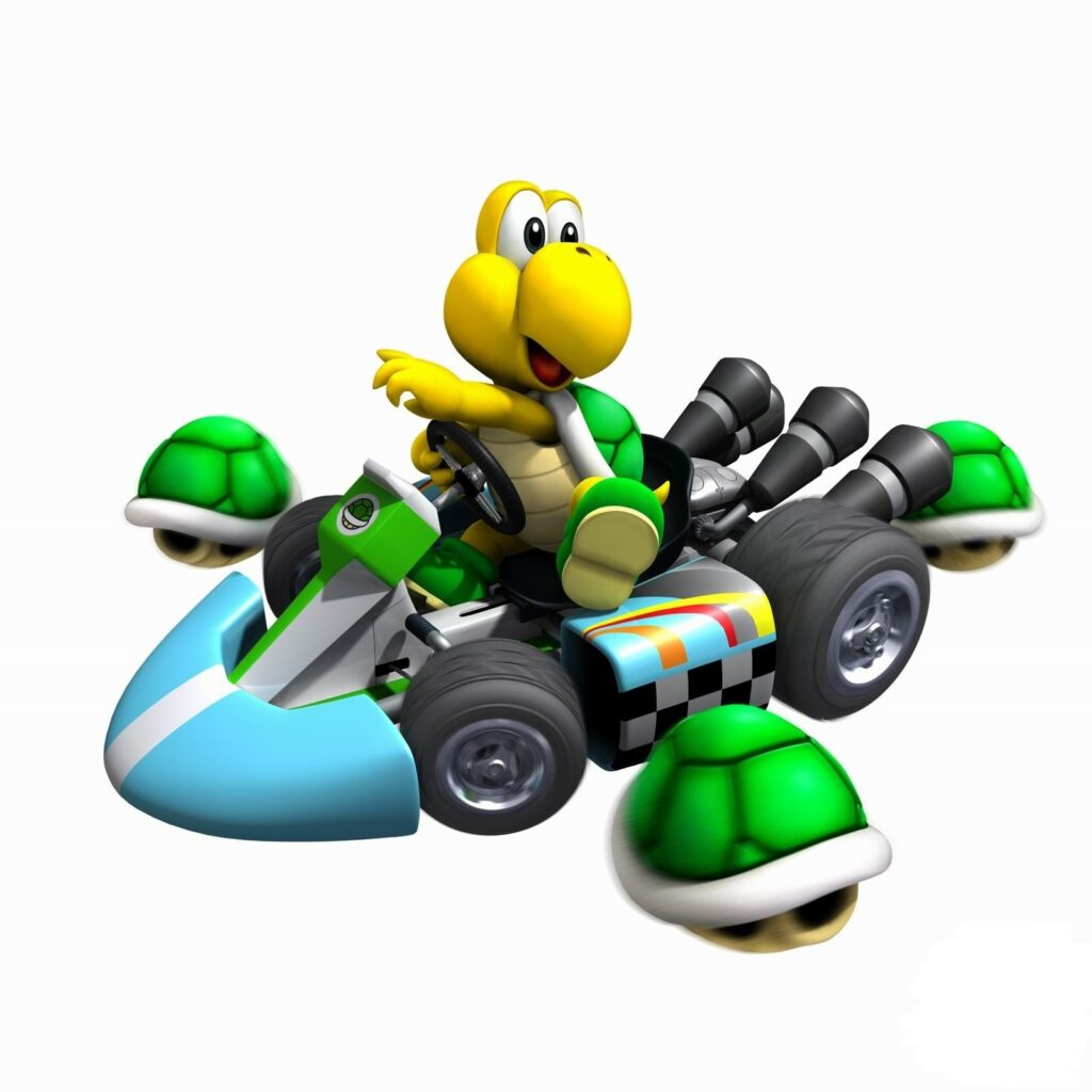 Koopa Troopa as seen in Mario Kart video game