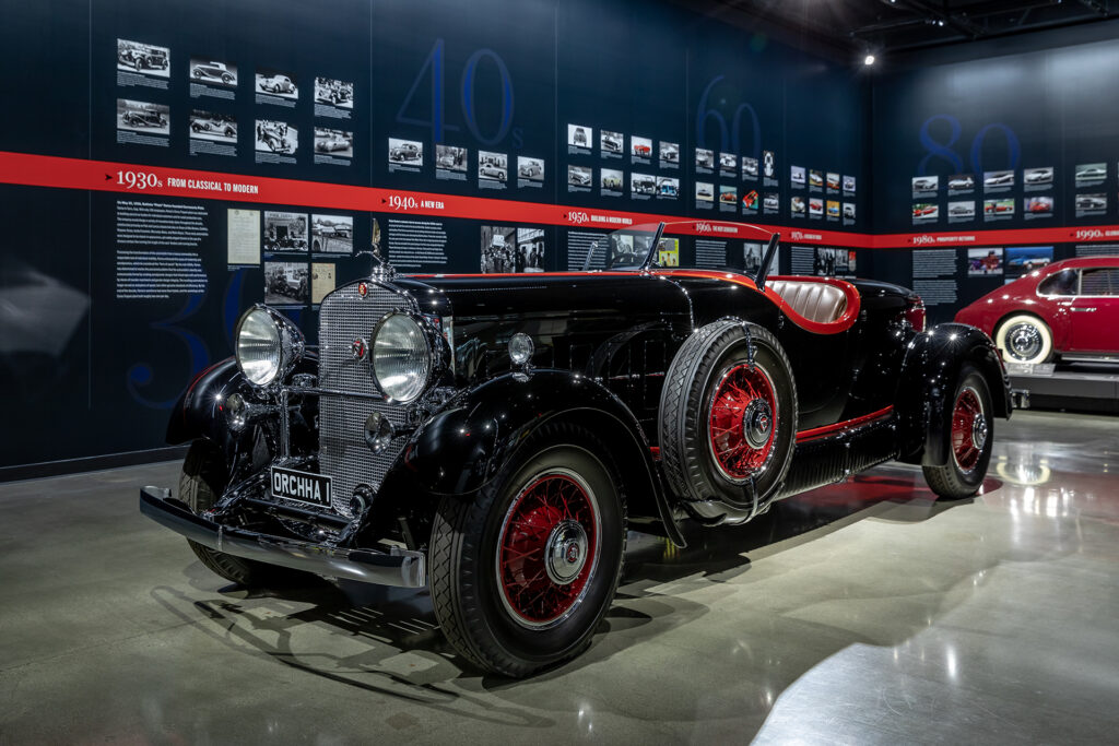 The Aesthetic of Motoring: 90 Years of Pininfarina exhibit at the Petersen Automotive Museum