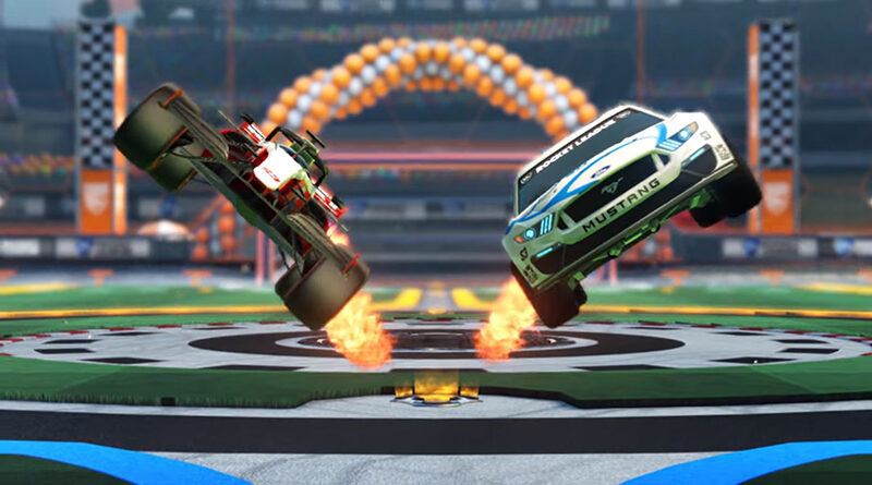 Rocket League Season 3 reveals F1 and NASCAR coming to the game