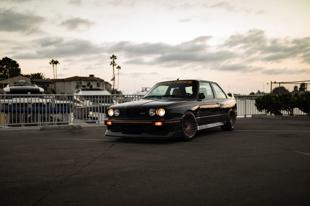 1988 BMW E30 M3 owned by Stan Chen