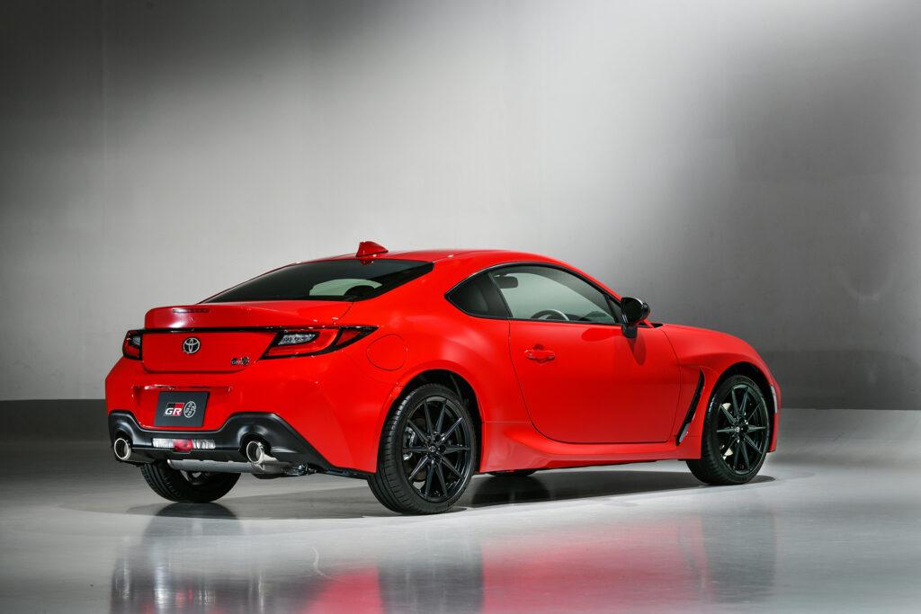 2022 Toyota GR 86 rear side view