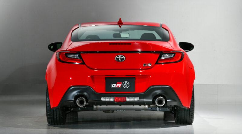 2022 Toyota GR 86 rear view