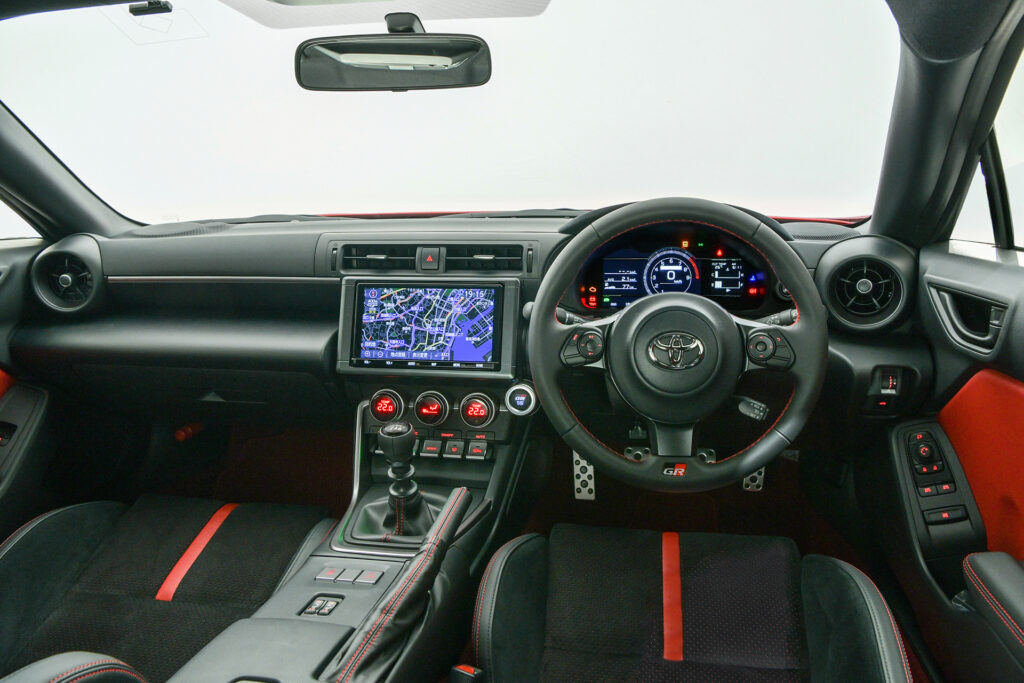 2022 Toyota GR 86 dashboard