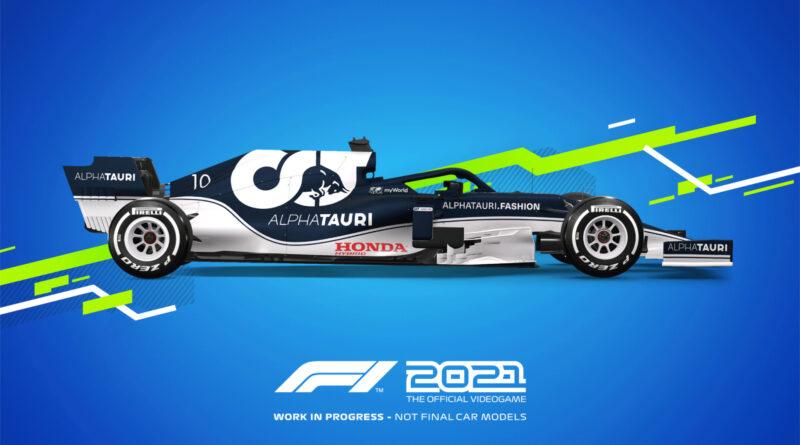 Codemasters F1 2021 Alpha Tauri