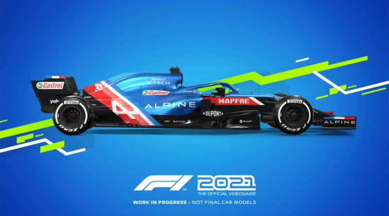 Codemasters F1 2021 Alpine