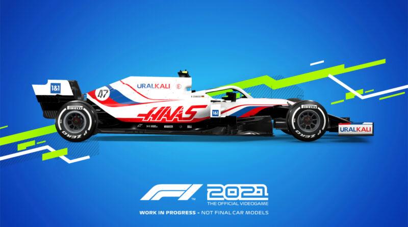 Codemasters F1 2021 Haas