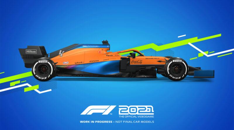 Codemasters F1 2021 McLaren