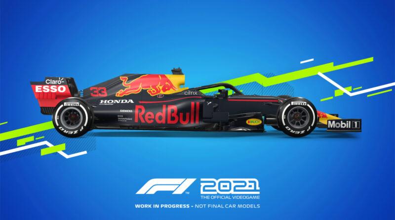 Codemasters F1 2021 Red Bull