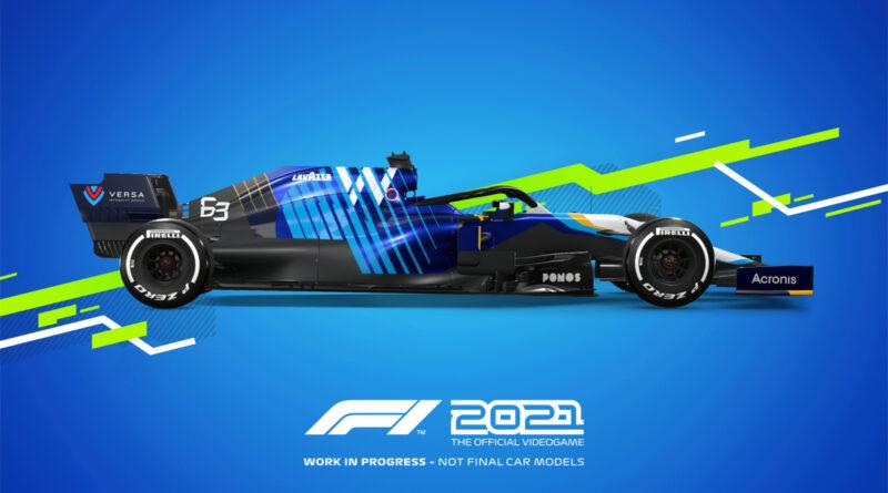 Codemasters F1 2021 Williams