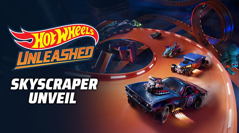 Hot Wheels Unleashed Skyscraper trailer