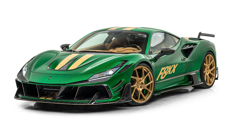 Mansory F8XX tuning program for the Ferrari F8 Tributo