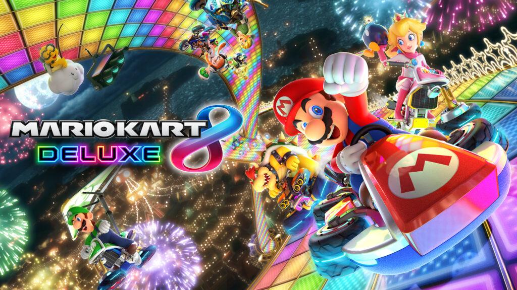 Mario Kart 8 title screen