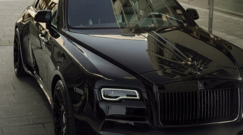 Rolls-Royce Wraith with OVERDOSE tuning program by SPOFEC