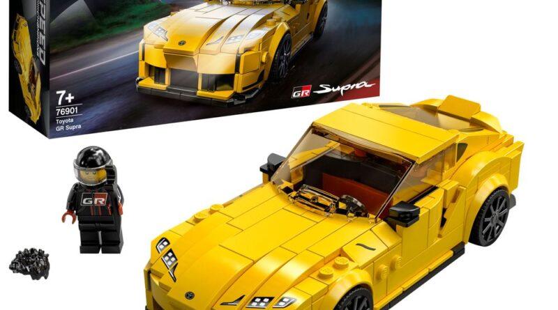 LEGO Speed Champions Toyota GR Supra. Set 76901