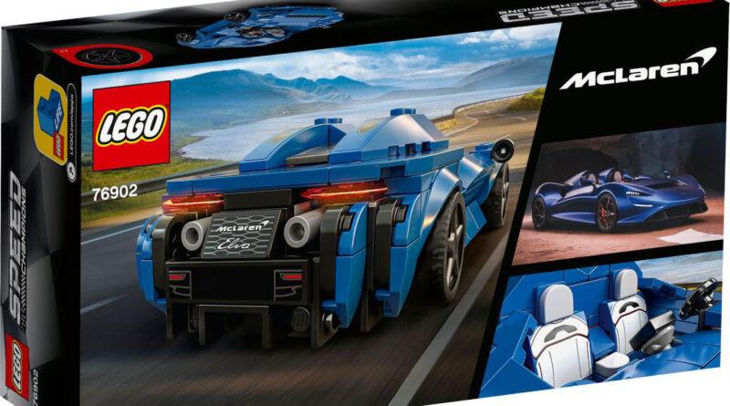LEGO Speed Champions McLaren Elva. Set 76902