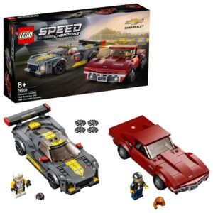 LEGO Speed Champions Chevrolet Corvette C8-R & 1968 Chevrolet Corvette C3. Set 76903
