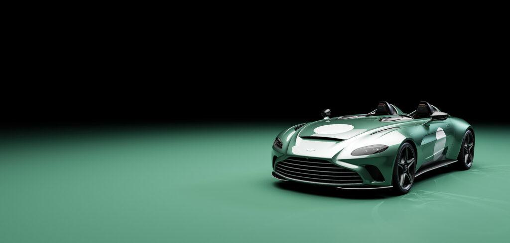 Aston Martin V12 Speedster in special DBR1 specification