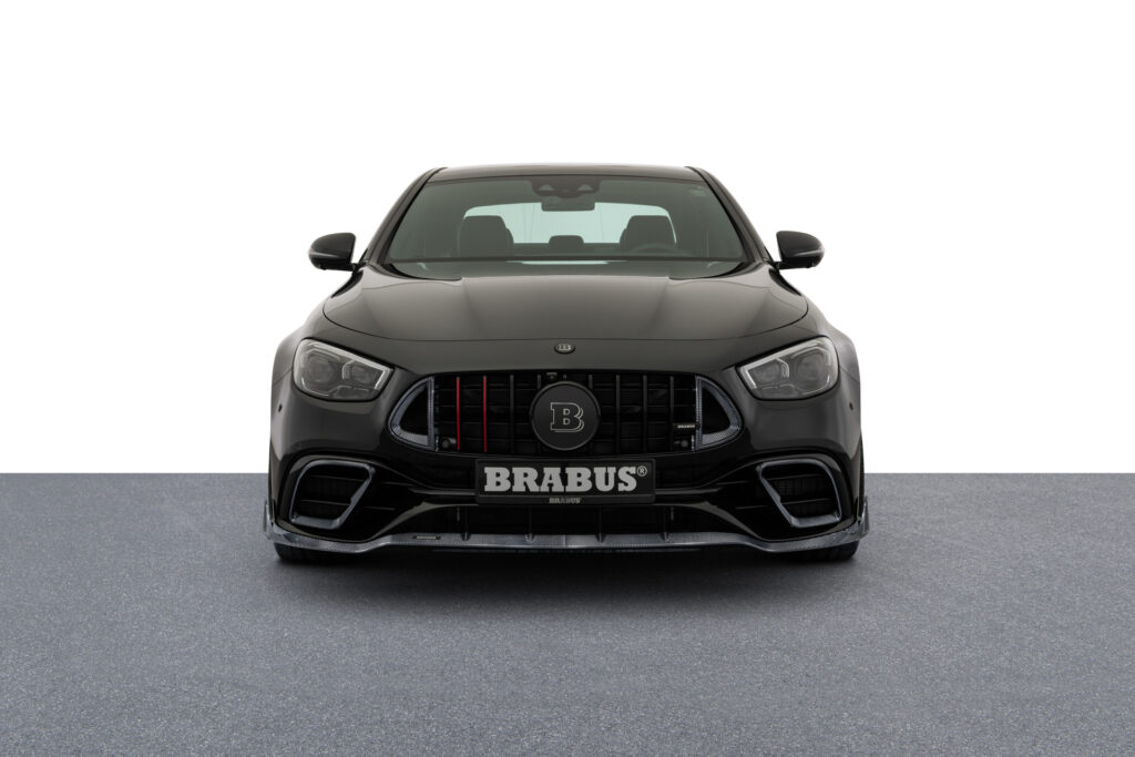 The Brabus 800 front view