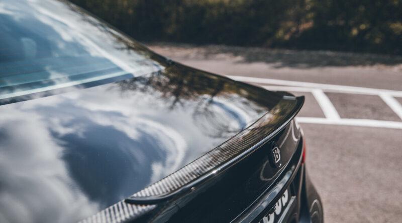 The Brabus 800 sedan based on the Mercedes-AMG E 63 S. (Rear spoiler)
