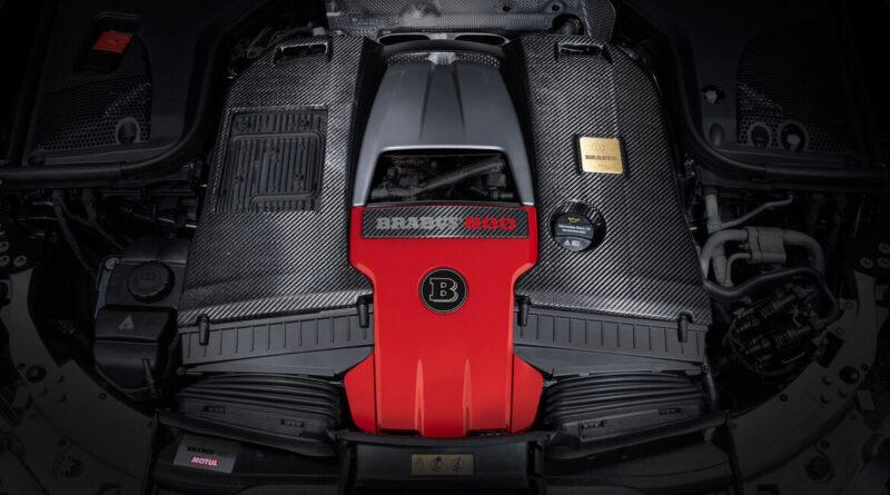 The Brabus 800 engine