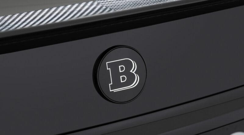 The Brabus 800 rear brabus emblem