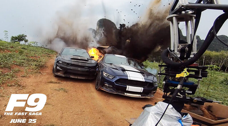 "F9: Fast And Furious 9 ""Total Carnage"" featurette goes behind the scenes of the biggest car stunts in the film"