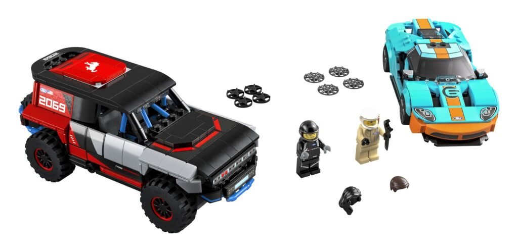 LEGO Speed Champions Ford GT Heritage Edition and Ford Bronco R. Set 76905