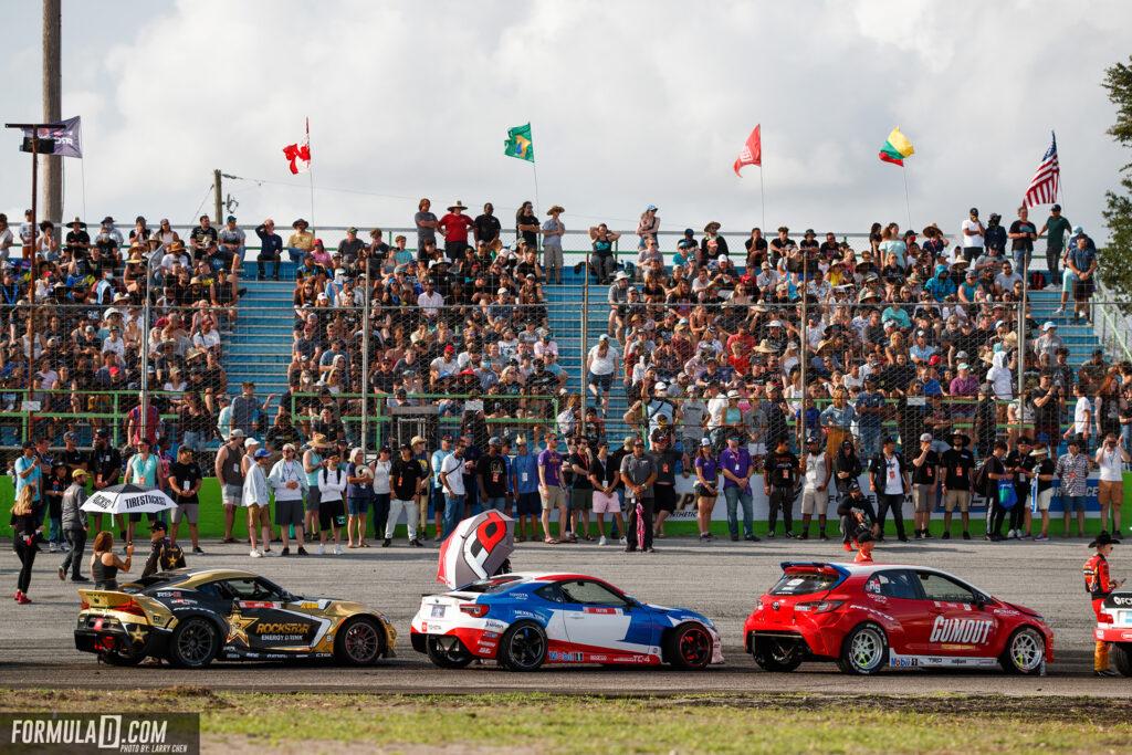 Formula Drift 2021 Round 2 Orlando Top 16 opening ceremony