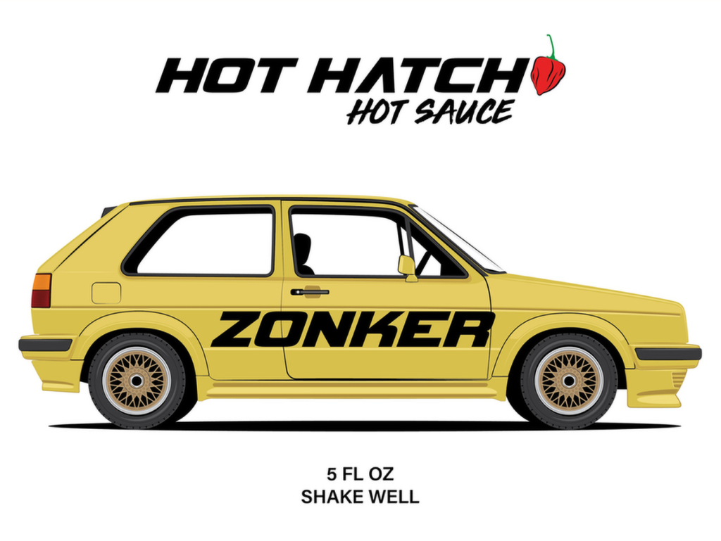 """Hot Hatch Hot Sauce """"The Zonker"""" flavor. Graphic by Lane Skelton"""
