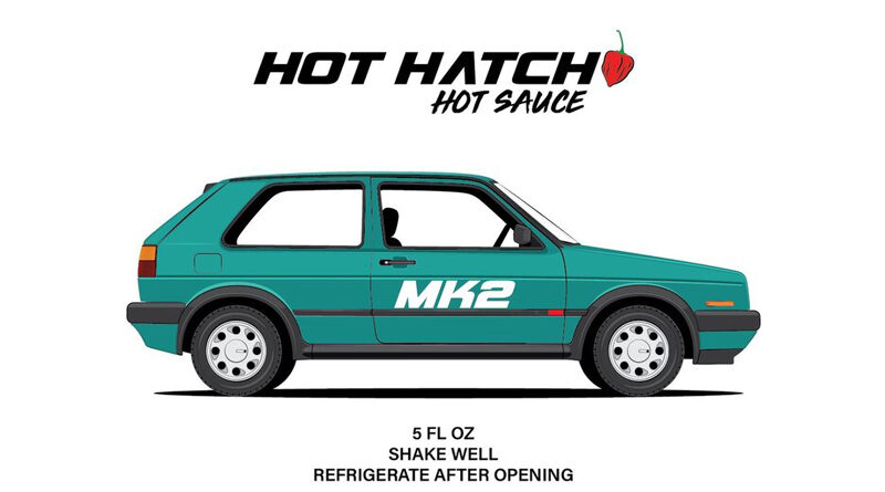 Hot Hatch Hot Sauce created by Chef Kevin Malone in Los Angeles, CA.