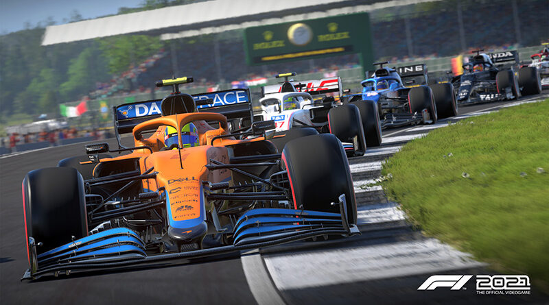 Codemasters F1 2021 screenshot