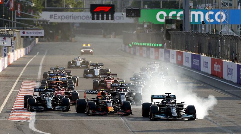 F1 2021 Azerbaijan GP restart