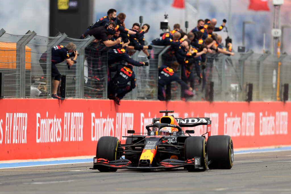 Red Bull F1 wins 2021 French GP
