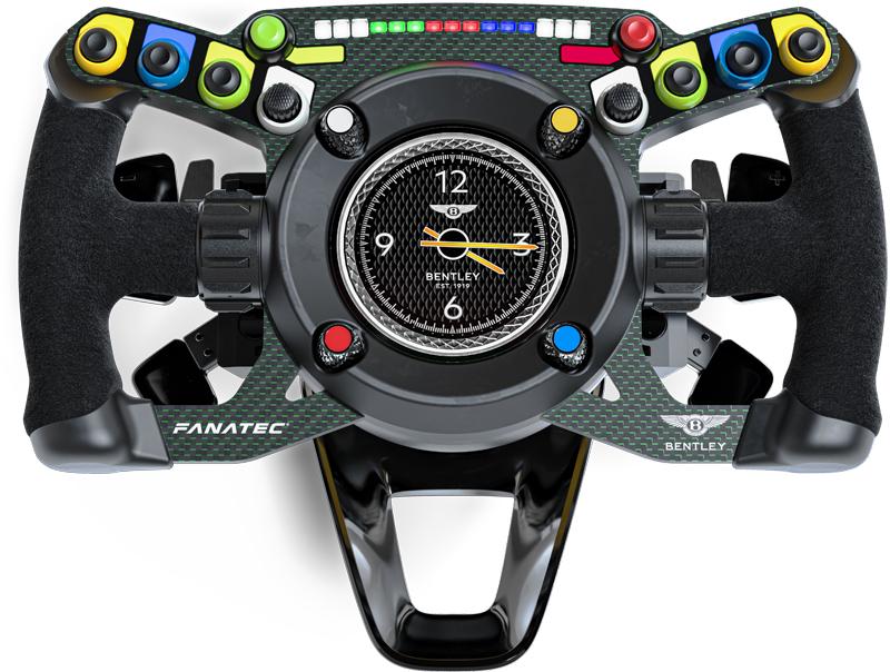 Fanatec Bentley GT3 steering wheel