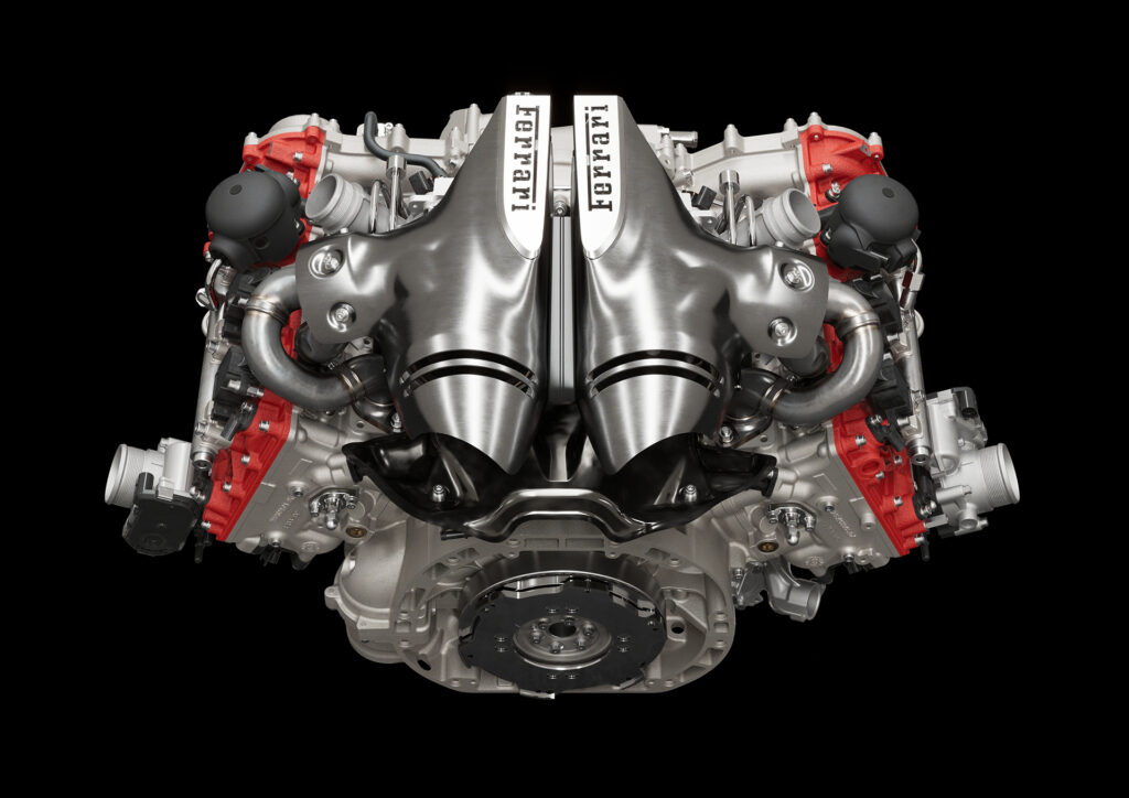 Ferrari 296 GTB engine