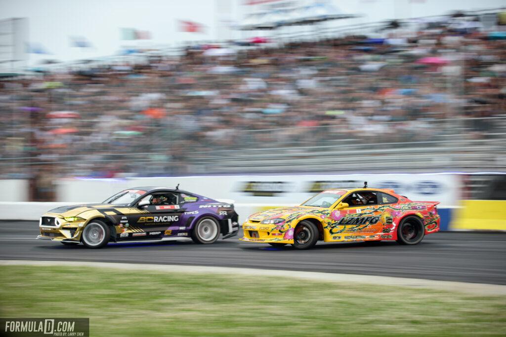Formula Drift New Jersey 2021 Adam LZ vs Chelsea DeNofa