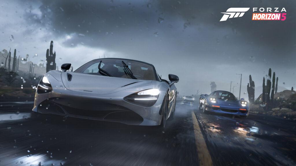Forza Horizon 5 screenshot featuring McLaren 720S