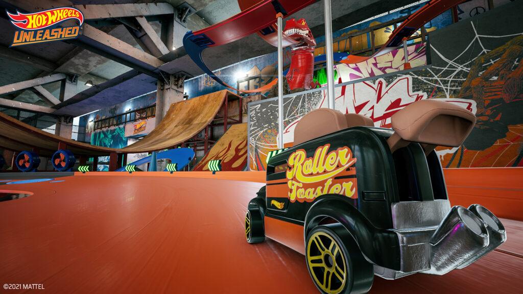 Hot Wheels Unleashed Skate Park environment revealed
