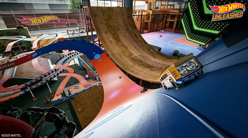 Hot Wheels Unleashed racing game shows off the new Skate Park environment