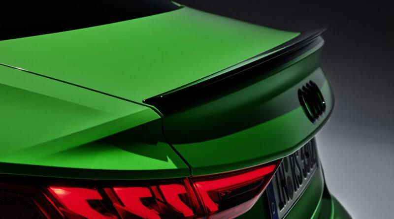 2022 Audi RS 3 Sedan decklid spoiler