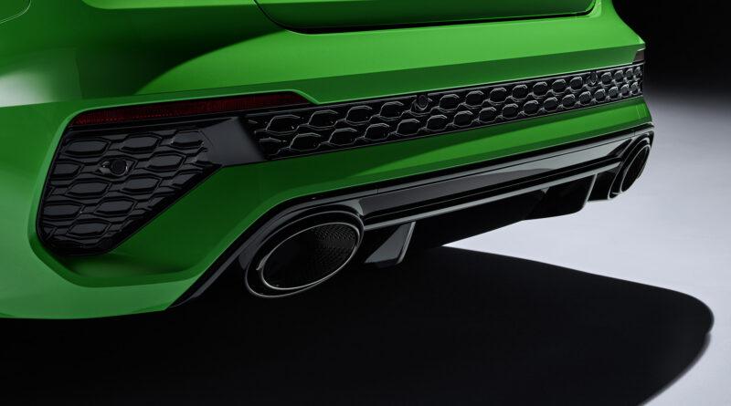 2022 Audi RS 3 Sedan exhaust
