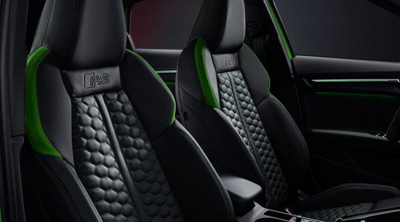 2022 Audi RS 3 Sedan interior front seats