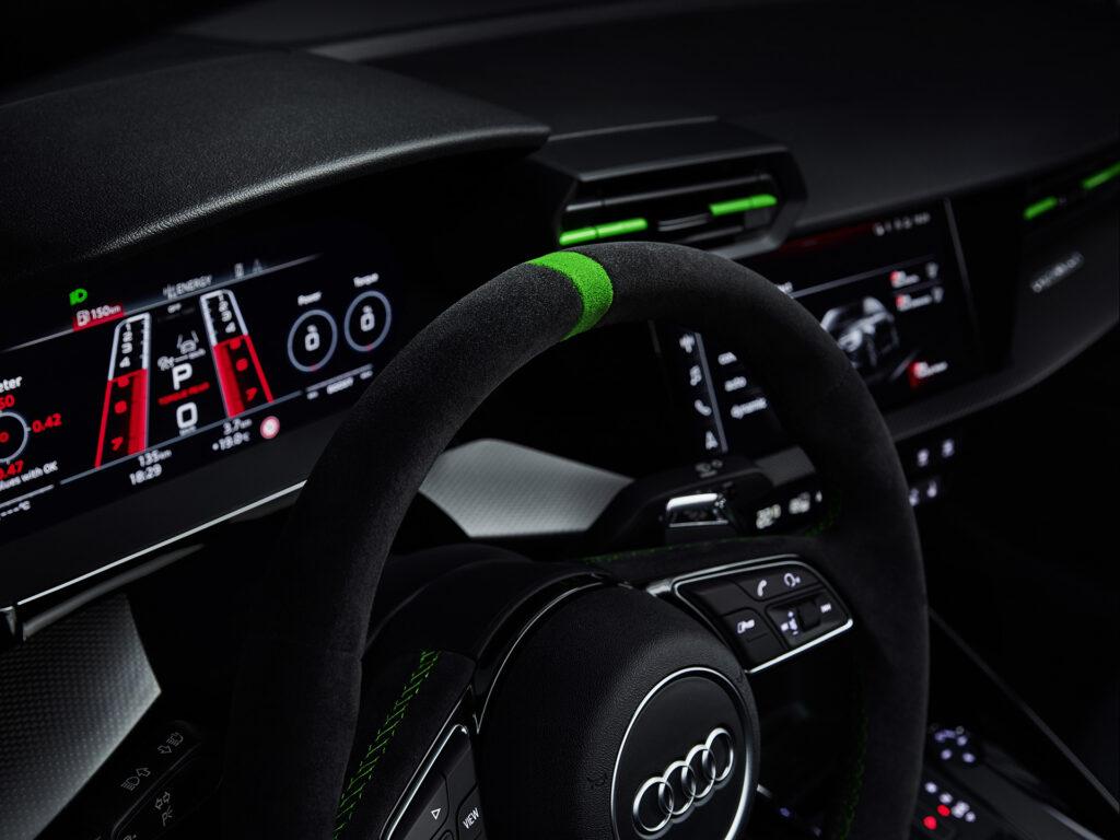 2022 Audi RS 3 Sedan steering wheel